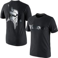 Men s Nike Minnesota Vikings Black on Black T-Shirt - ESPN Shop Vikings  Game f00546f5a