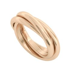 Russian Wedding Ring Willow 9ct Rose Gold