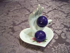 Nice Vintage Chunky Purple Earrings New from AAi