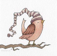 Two Birds by Clint Reid, via Behance