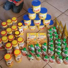 Baby Food. Gerber Stockpile. #Coupon #Couponing #couponmania #Stockpile #Stockpiling