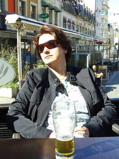 a sunny Biere in Boulogne-sur-Mer