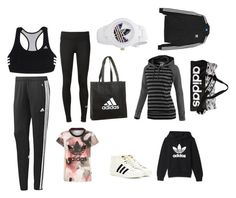 """""""ALL ADIDAS EVERYTHING !!!!!!!!!!!!!!!!!!!!!!!!!!!!!!!!!!!!!!!!!!!!!"""" by danceswimmusicsing101 on Polyvore featuring adidas and adidas Originals"""