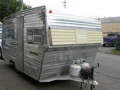 Russian River Vintage Travel Trailers.  1969 Aristocrat. Not sure of the Aristocrat model.