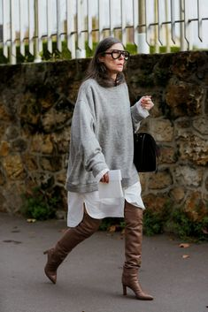 (notitle) - Outfit Inspirationen Herbst/Winter - The Fashion Looks Street Style, Looks Style, Style Me, Spring Street Style, Mode Dope, Winter Stil, Advanced Style, Mode Streetwear, Mode Inspiration