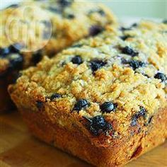 Blueberry courgette cake @ allrecipes.co.uk