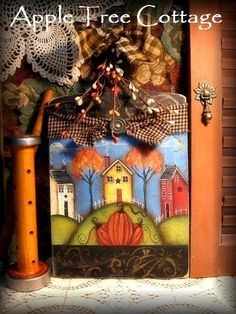 hand painted bread board...awesome!