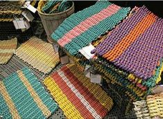 Hand made from recycled lobster trap rope, Maine Float-Rope Doormats are available in an array of solids and stripes; prices start at $49.95 for a Medium Float-Rope Doormat (18 by 30 inches).