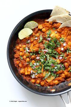 Vegan Chilaquiles wi