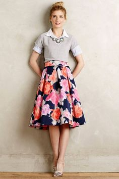 midi skirt you can wear to work!