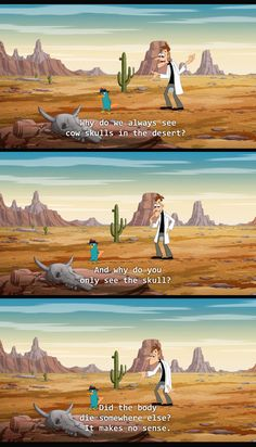 phineas and ferb. this show always questions the status quo.