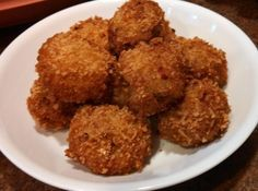 """""""This is one of my family's favorites. They are golden and crispy on the outside, smooth and savory on the inside!"""""""