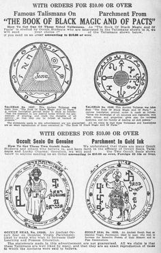 Ceremonial Magick: Seals for Wiccan Spell Book, Wiccan Spells, Magick, Witchcraft, Pagan, Alchemy Symbols, Masonic Symbols, Seal Of Solomon, Sigil Magic