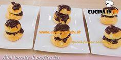 Mini torrette di profiteroles ricetta Giacomo da Bake Off Italia | Cucina in tv