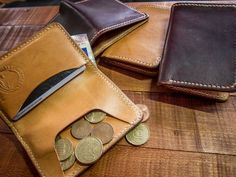 TC-52 Horsehide Southbound Wallet via Texu Crafts. Click on the image to see more!