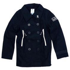 adidas Varsity baseball jacket in navy