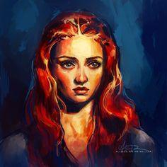 Sansa Stark by AliceXz