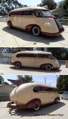 Just a car guy : 1941 Ford Western Flyer - Auto 2019 Vintage Trailers, Vintage Cars, Antique Cars, Automobile, Weird Cars, Crazy Cars, Ford Motor Company, Cool Trucks, 4x4 Trucks