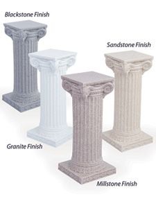 Rotational Molded Faux Finished Columns