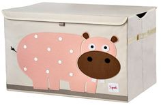 3 Sprouts hippo toy chest
