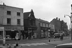 Market Street from bottom of Anchor Road. More unseen images of Longton: Bert Bentley Collection