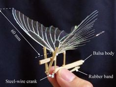 Why make an artificial butterfly out of wood and plastic? Researchers think it can shed light on the mechanics of butterfly flight.