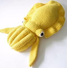 Cora the Cuttlefish pattern on Craftsy.com