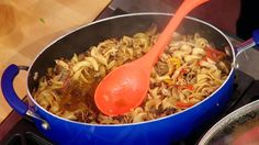 Sunny Anderson's Shredded Chicken Goulash