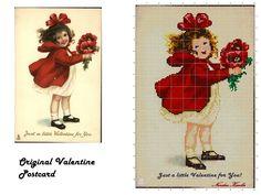 A Valentine Postcard Adaptation!