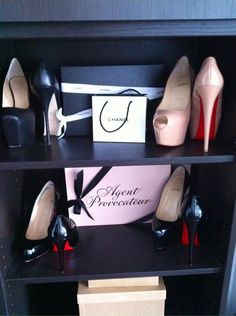 Chanel, Louboutins, and Agent Provocateur Lingerie, my DREAM