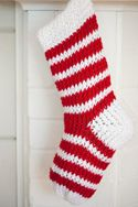 Ravelry: Loom Knit Christmas Stocking pattern by Kathy Norris