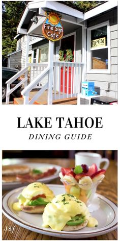 This Winter marked my first Winter Tahoe trip in my five years of living in San Francisco. After years of waiting, I finally had a fabulous four-day weekend in Tahoe. Here is my Tahoe Dining Guide, composed of some of the amazing spots my local friend recommended we visit during my 48 hours in the Tahoe City area! California Restaurants, California Destinations, California Travel, Tahoe City, Lake Tahoe, West Coast Foods, Wine Recipes, Mexican Food Recipes, Living In San Francisco