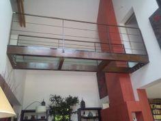 Glasboden PASSERELLE ACIER ET VERRE Trescalini - Escaliers, structures et garde-corps