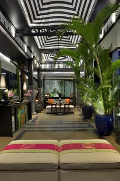 Nestled within private gardens, Shinta Mani Shack features Bensley-designed accommodations centrally located in the French Quarter between The Royal. Monochrome Interior, Interior Design, Hotel Interiors, Private Garden, Hotel Lobby, Luxury Travel, Cambodia, Design Elements, Contemporary Design