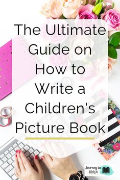 The best way to learn to write a picture book. How to write books for kids. Children's book writing tips for aspiring authors. Writing tips for picture book authors. Tips for writers. Writing tips. Writing Kids Books, Book Writing Tips, Fiction Writing, Start Writing, Writing Skills, Kid Books, Writing Practice, Writing Guide, Writing Challenge