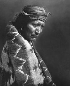 Native American - the harsh story of his life told in the lines of his face.  Amazing.