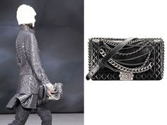 Chanel Black Boy Enchained Bag Fall 2013