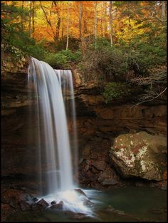 Cucumber Falls, Ohiopyle State Park, Pennsylvania