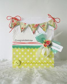 Sweet Congratulations Card by @Clare Buswell
