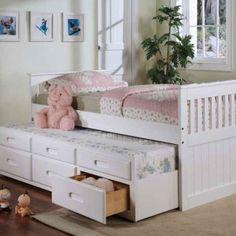 Kinderbett mit Schubladen – Funktionalität ist modern!