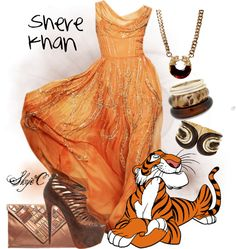 """""""Shere Khan Inspired Outfit"""" by rubytyra on Polyvore"""