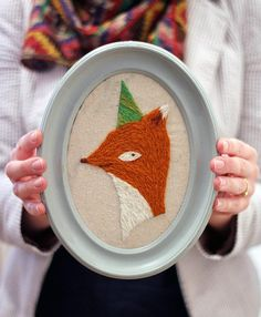 Party on, little fox. #DIY #kit #etsyfinds