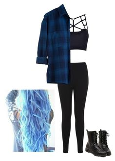 """""""Black and Blue"""" by sophsoph58 ❤ liked on Polyvore featuring Miss Selfridge"""