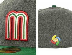 Custom NEW ERA x WBC 「Mexico 」59Fifty Fitted Baseball Cap  2604b020c4b