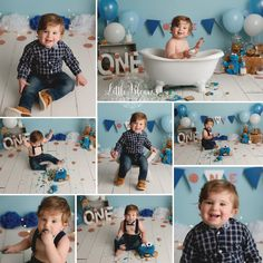 Little boy first birthday Cookie Monster cake smash. First Birthday Cookies, Birthday Cake Smash, Boy First Birthday, Cake Smash Pictures, Chadds Ford, Photographing Babies, Cookie Monster, Suspenders, Family Photographer