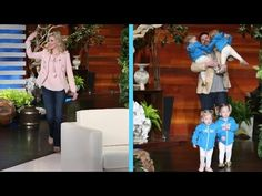 Utah-Tube: Gardner Quad Squad storms Ellen DeGeneres' show with cuteness - UtahValley360