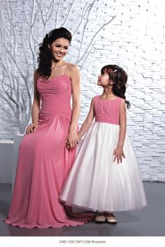 DAB11205/DAF21206 Rosepetal from DZage Bridesmaids