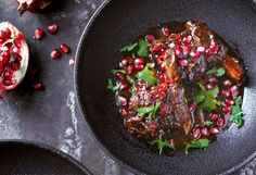 Annie Rigg's beef short ribs braised in pomegranate recipe - 9Kitchen