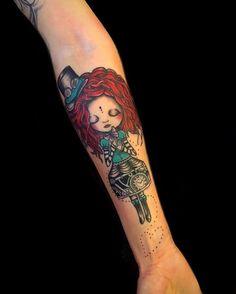 Kick Ass Tattoo Ideas: Steampunk Tattoos | KickassThings