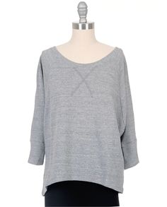 LA'T by L'AGENCE Terry Sweatshirt